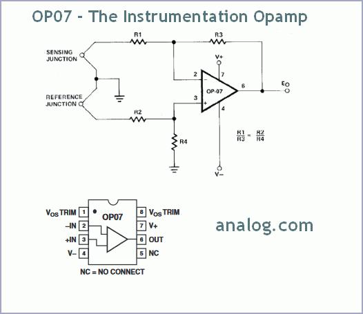 OP07 - The Instrumentation Opamp